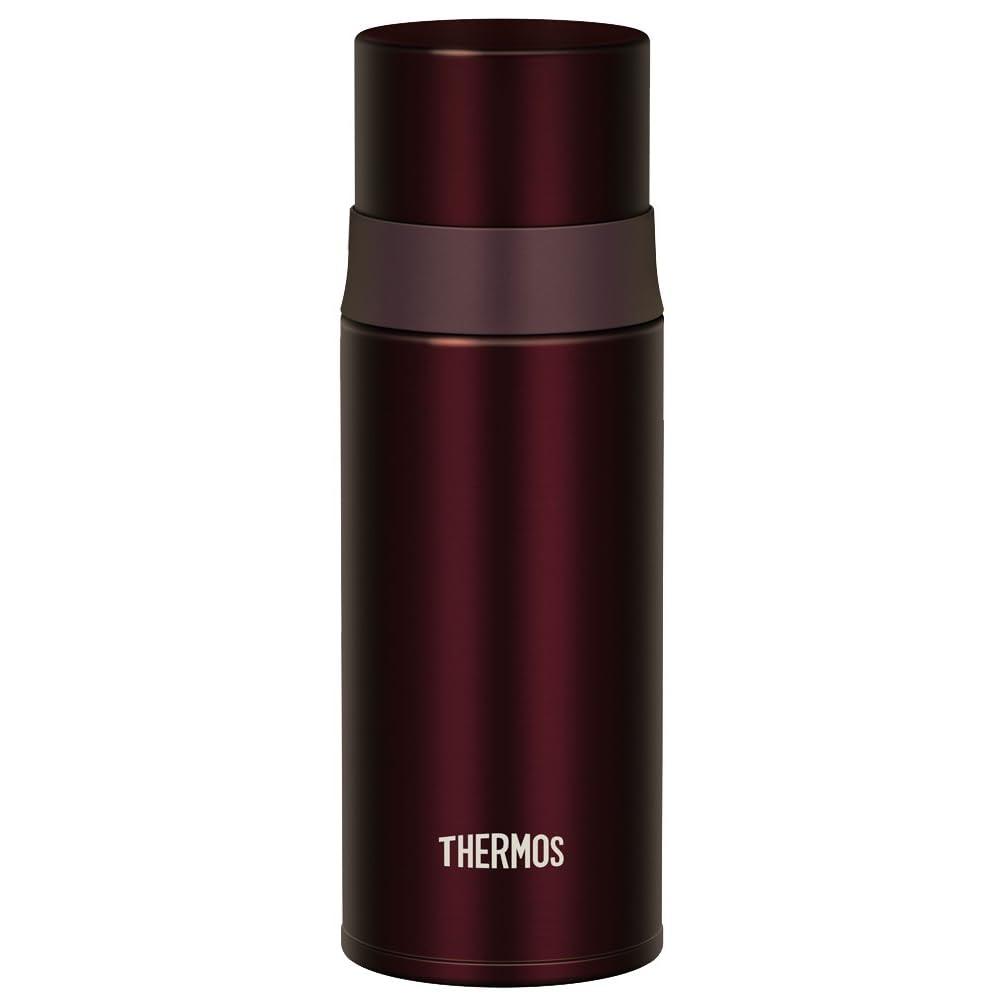 サーモス 水筒 ステンレススリムボトル 350ml ブラウン FFM-350 BW