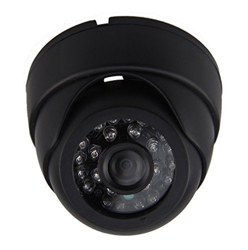 Auto Rover DC9-36V 1000TVL High Resolution Plastic Dome Camera with 4P Aviation Connector [並行輸入品] B01M08VYIF