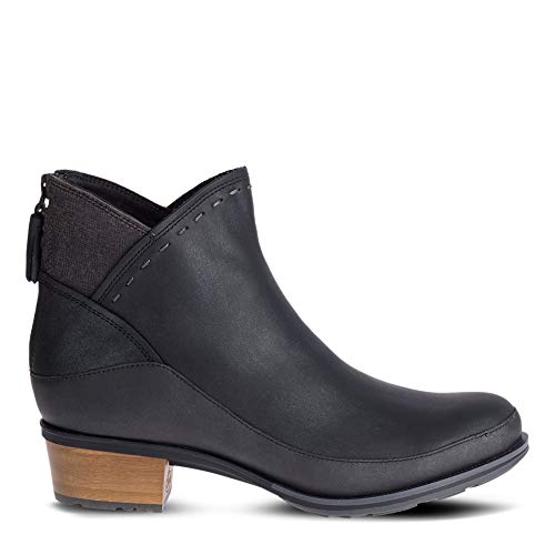 Chaco Women's Cataluna Mid Boot, Black, 10 M US