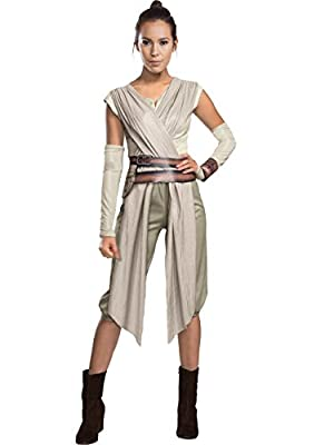 generique Adult Star Wars The Force Awakens Deluxe Rey Costume