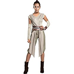 Star Wars The Force Awakens Adult Costume, Beige Medium