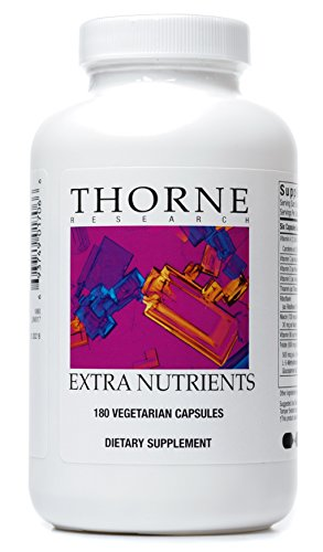 Thorne Research - Extra Nutrients - Multi-Vitamin-Mineral Supplement for Extra Antioxidant Support - 180 Capsules