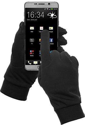 Women/Men Touch Screen Full Finger Gloves for Smartphone Yellow - 5