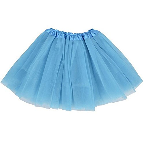 tulle fabric blue - 8