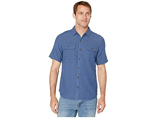 Royal Robbins Men's Cool Mesh Eco Short Sleeve Shirt Twilight Blue Xd Medium ()