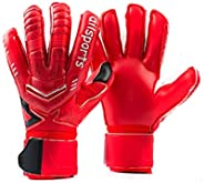 Goalie Goalkeeper Gloves Pro Fingersave,Strong Grip for Toughest Saves, Protection to Prevent Injuries, Fit Ma