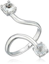 Rebecca Minkoff Stone Twist Ring, Size 7