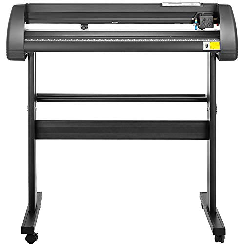 VEVOR Vinyl Cutter 28 Inch Plotter Machine 720mm Paper Feed Vinyl Cutter Plotter Signmaster Software Sign Making Machine with Stand (28Inch Style 2) by VEVOR (Image #2)