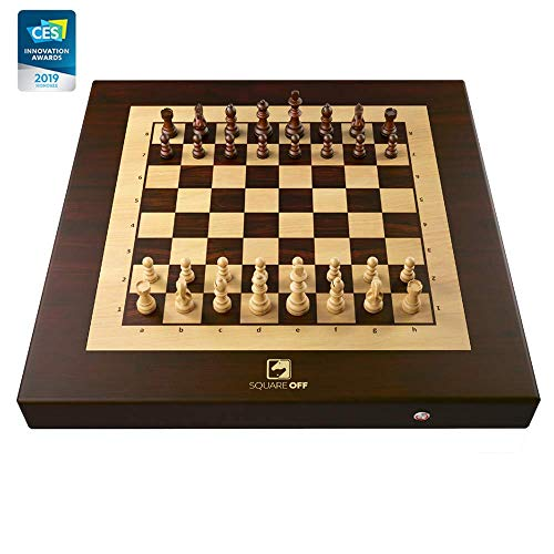 Square Off Chess Set. A Smart automated Chess Board