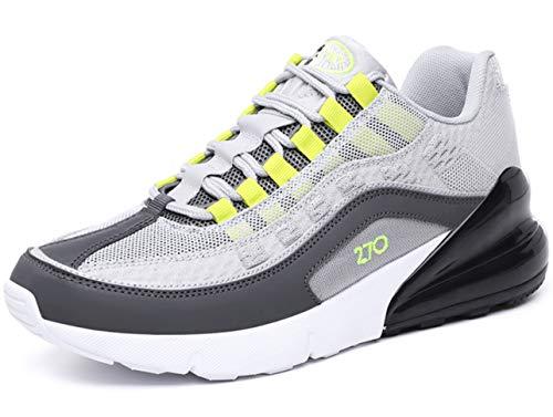 QJRRX Sportschuhe Herren Damen Laufschuhe Air Cushion Luftkissen Sneakers Turnschuhe Fitness Gym Leichtes Bequem Schuhe 36-46