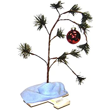ProductWorks 18-Inch Peanuts Charlie Brown Christmas Tree with Linus Blanket - Amazon.com: ProductWorks 18-Inch Peanuts Charlie Brown Christmas