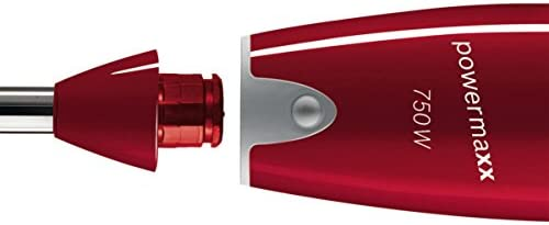 Bosch BATIDORA con Picador MSM65PER 750W,PIE INOX,Regula, 750 W, Plástico, 12 Velocidades, Rojo: Amazon.es: Hogar