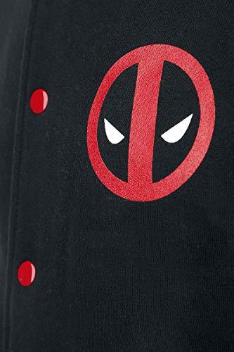 Deadpool L rouge Veste Logo Noir Collège pcpOqF