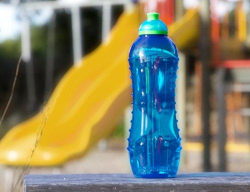 Sistema Hydrate Twist n Sip - Botella de plastico, Azul, 620 ml, 1 unidad: Amazon.es: Hogar