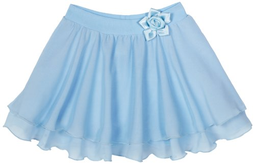Sansha Little Girls' Kristie Skirt, Light Blue ,Small(C)/4-6 (Sansha Skirt)