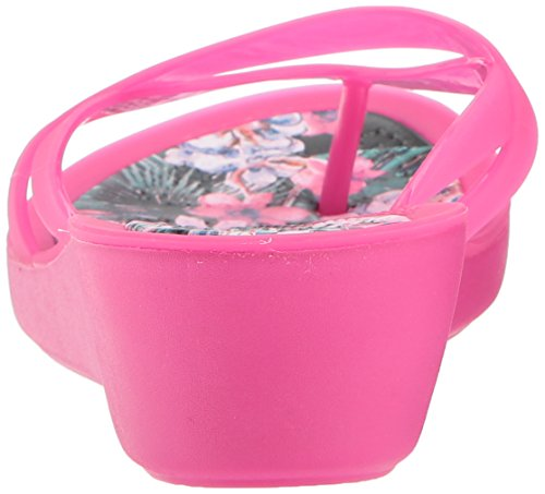 Print Candy Women's Flop Wedge Crocs Pink Tropical Isabella Flip gdYFqAnEx