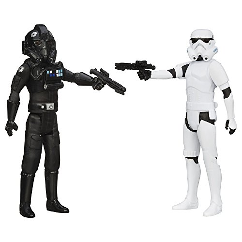 Star Wars Mission Series Stormtrooper and TIE Pilot