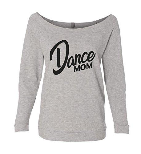Cute Dance and Gymnastics Mom Sweatshirts Dance Mom Royaltee Shirts, Heather Grey, XXLarge -