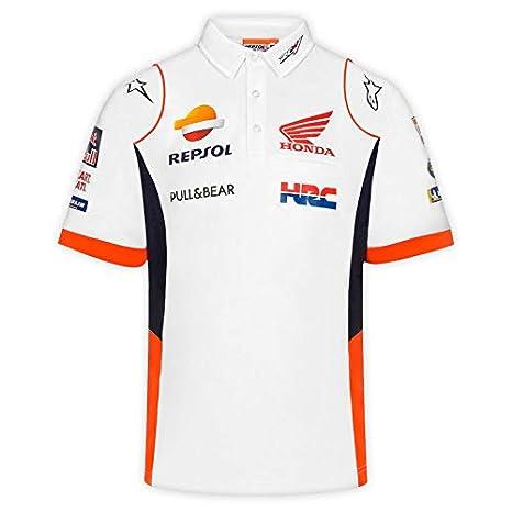 Master Lap Polo Repsol Honda MotoGP Blanco: Amazon.es: Deportes y ...