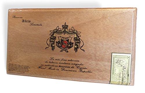 Cigar Wood Case/Box Arturo Fuente (Reserva No. 50) Small Size (Arturo Fuente Cigar Box)