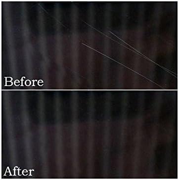Glass Polish - Kit DIY para reparación de arañazos en Cristal. Sistema GP-Wiz. Elimina arañazos, Rozaduras, daños por Papel de Lija, componentes 50 mm: Amazon.es: Coche y moto