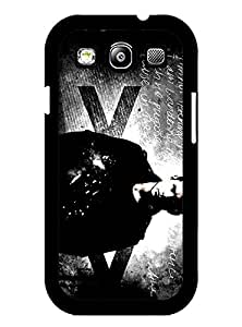 Supernatural,Movie Galaxy S3 Funda Case, Brand Logo Protection Unique Pattern Rugged Drop Resistant Hard Plastic Vintage Fit for Samsung Galaxy S3 i9300