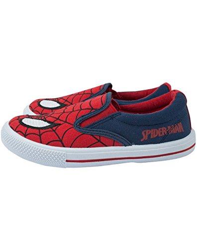 Ultimate Spider-Man Boy 's Slip-On bombas