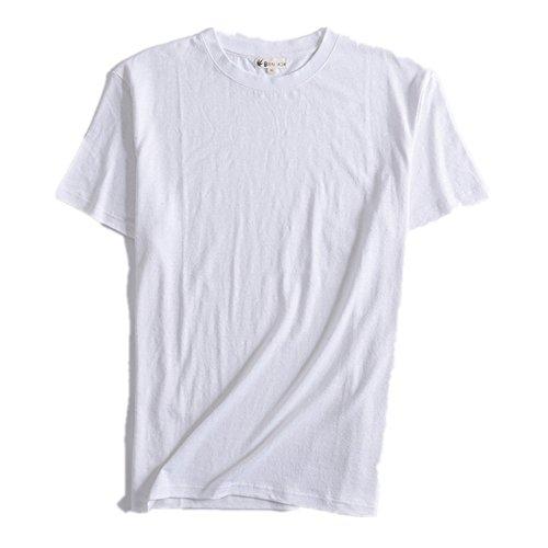 T Show Hemp Blanc shirt Homme a7xgqzwZ