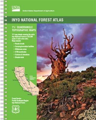 John Muir Wilderness Map - Inyo National Forest Atlas