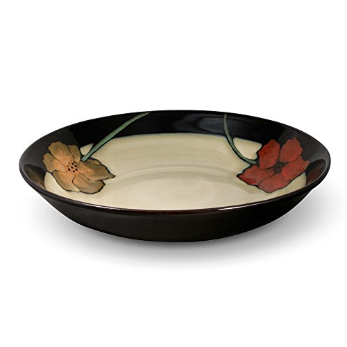 Pfaltzgraff Painted Poppies Large Pasta Serving Bowl, (Painted Bowls)