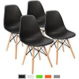 Amazon.com: Black - Chairs / Kitchen & Dining Room Furniture: Home ...