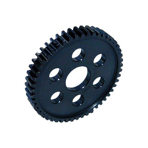 Robinson Racing 7950 Slash/Stampede 4x4 Hard Black 50 T Steel Spur Only 32P, Accepts - Spur Black Steel