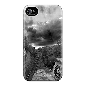 Series Skin Case Cover For Iphone 4/4s(amazing Roads)