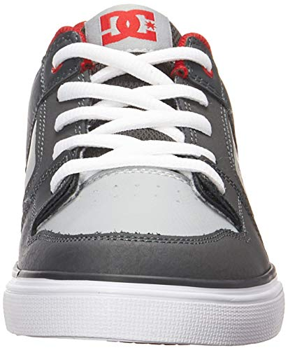Pictures of DC Pure Elastic Skate Shoe Grey 11. ADBS300350 Grey 6