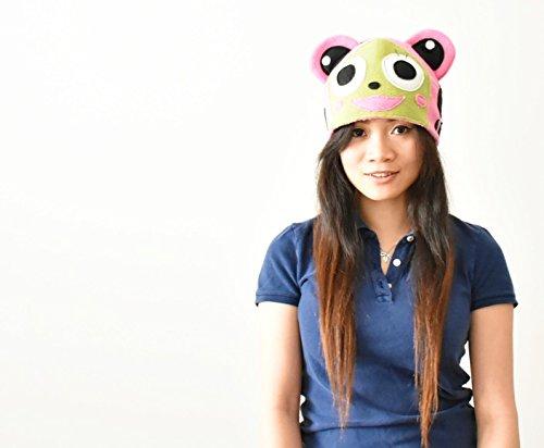 Frosch cat Cosplay Costume Fairy Tail Anime Fleece Beanie Toque Cat Frog Hat manga ski snowboarding