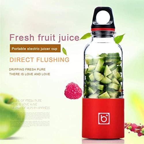 WZLJW Exprimidor eléctrico Copa Mini portátil Recargable Exprimidor Batidora Tamiz exprimidor de Frutas Jugo de Naranja Extractor - Rosa, a2 ggsm (Color : Pinka12a65, Size : A65)