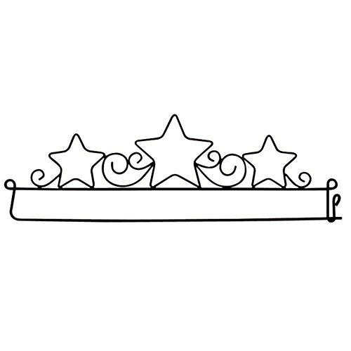 - Herrschners Star Trio Decorative Craft Hanger