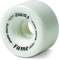 The Fame wheel is found on the Fame skate package and now are released in colors that will match the Boardwalk package. A great artistic Êwheel for the beginner skater.