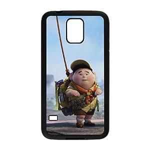 cartoon boy and dog Samsung Galaxy S5 Cell Phone Case Black 53Go-389903