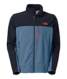 The North Face Apex Bionic Jacket - Men\'s (Medium, Moonlight Blue/Cosmic Blue)