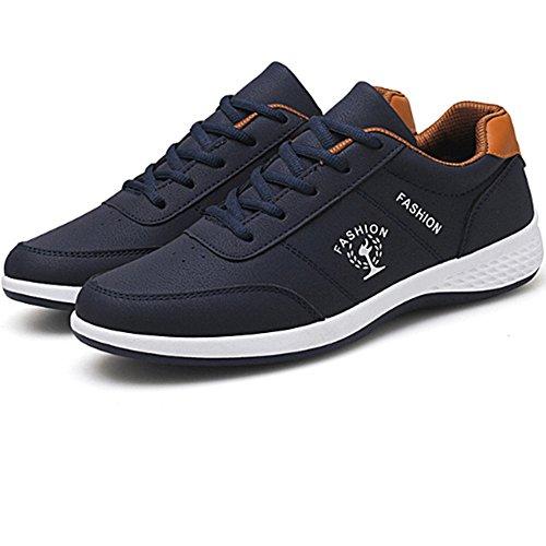 hot sale online a2b39 ea02c Zapatos Transpirable Azul Blancos Blanco uk6 Casuales Viaje Versión  Acogedor Eu39 De Lvzaixi Coreana Tamaño Placas ...