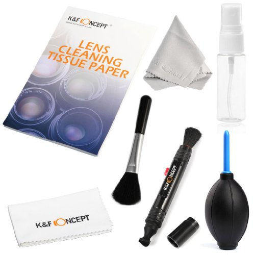 K&F Concept Professional 7in1 Cleaning Kit for DSLR Cameras