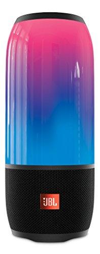 JBL PULSE 3 Bluetooth스피커 IPX7방수/멀티 컬러LED탑재/포터블 블랙 JBLPULSE3BLKJN 【국내 정규품】