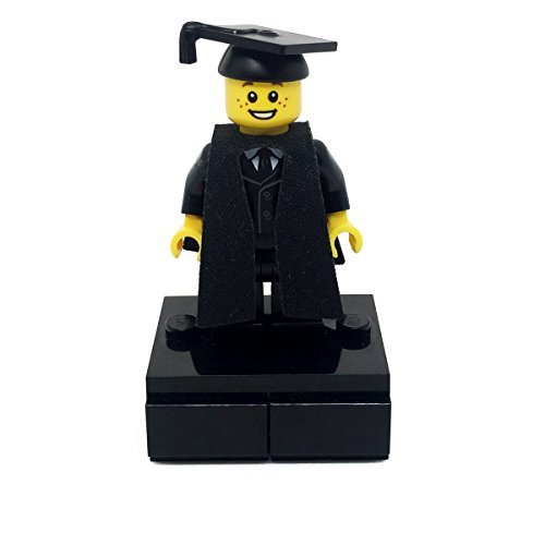 LEGO Male Graduate On Plinth Stand Graduation 2016 Gift by LEGO