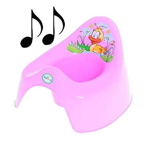 Easy Clean Toilet Potty Training Baby Kids Toddler Fun Colourful Animal Duck (Blue) Tega Baby PO-037