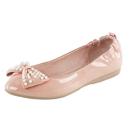Ballerinas mit Schleife Pin up Corture Pink IVY-09