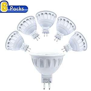 mr16 led light bulbs with gu5 3 base 50w equivalent halogen replacement neutral white 5w. Black Bedroom Furniture Sets. Home Design Ideas