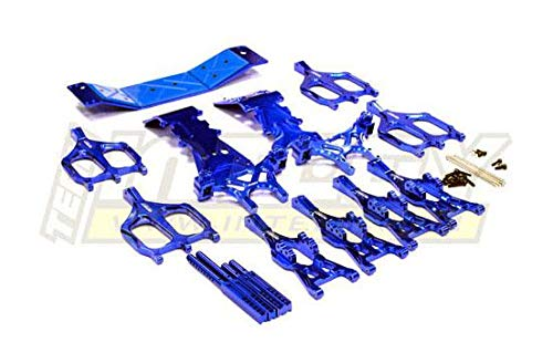(Integy RC Model Hop-ups T3035BLUE Suspension Kit Monster Evolution-5 for T-Maxx (4907, 4908))