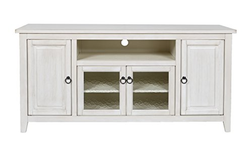 New Classic Stewart 60'' Weathered Creme End Unit by New Classic