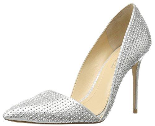 platinum silver shoes - 6